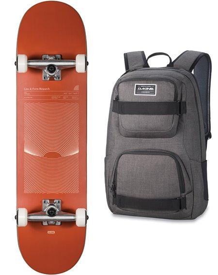 """Globe Skateboard con Zaino G1 Lineform 8.25"""" Cinnamon"""