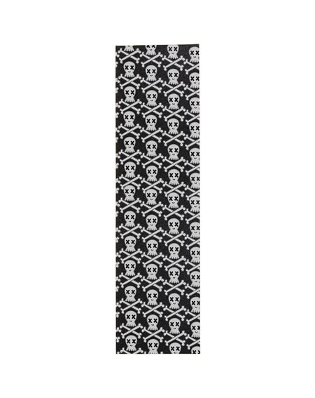 "Enuff Skeleton 9.0"" Skateboard Griptape Black"
