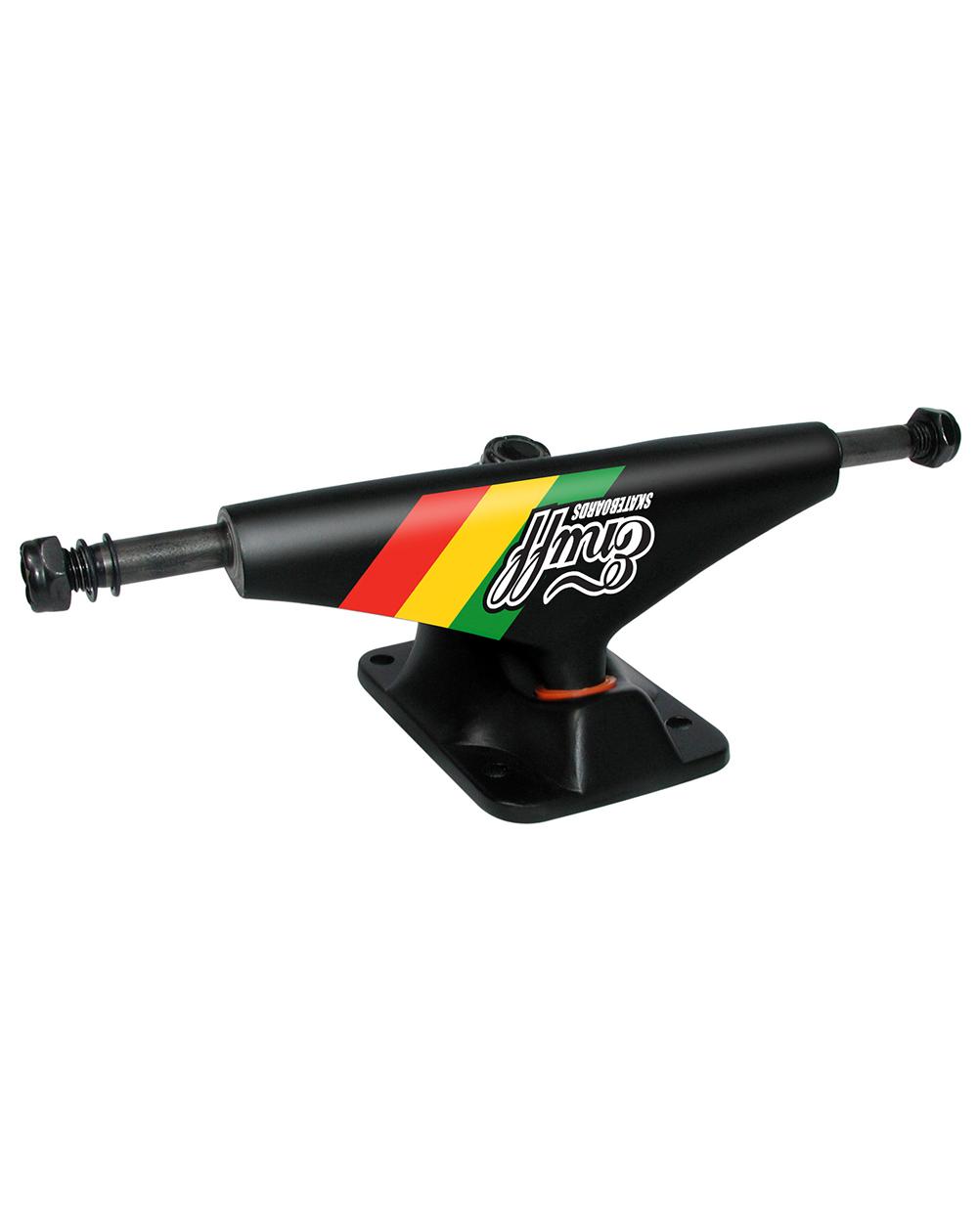 Enuff Pro 306Low 5.00-inch Trucks Skateboard Rasta pack of 2