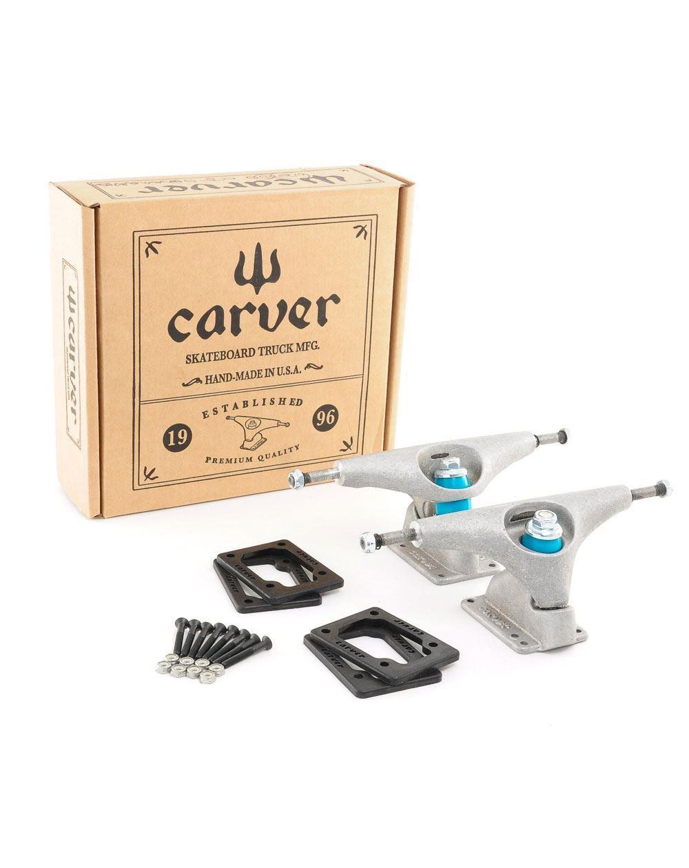 Carver CX Truck Set Trucks Skateboard Raw