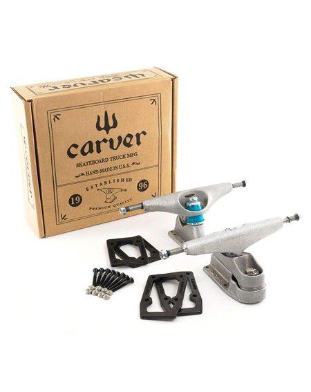 Carver C7 Truck Set Trucks Skateboard Raw