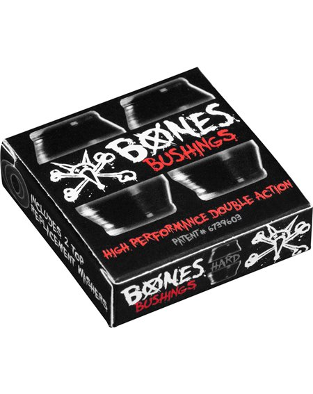 Bones Wheels Hardcore Hard Skateboard Bushings Black