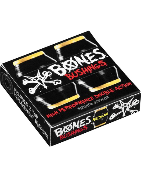 Bones Wheels Hardcore Medium Skateboard Bushings Black