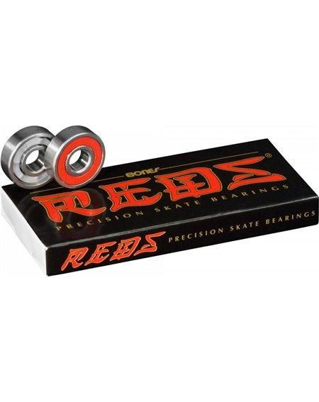 Bones Bearings Rodamientos Skateboard Reds