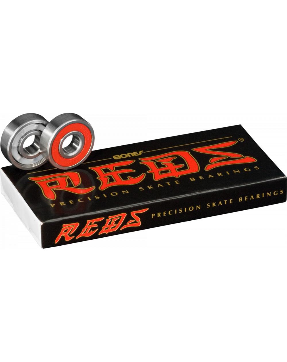 Bones Bearings Roulements Skateboard Reds
