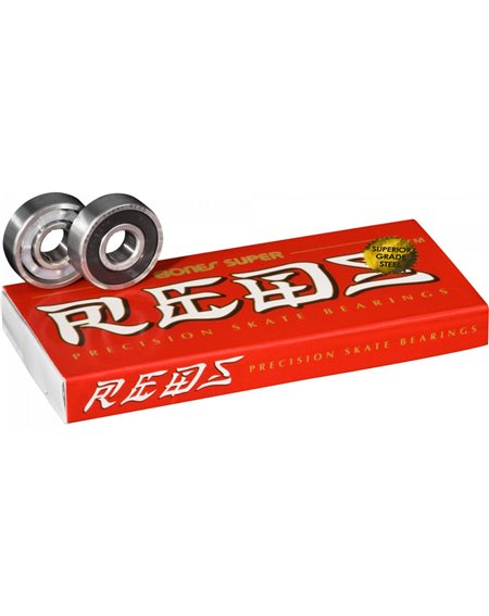 Bones Bearings Super Reds Skateboard Bearings