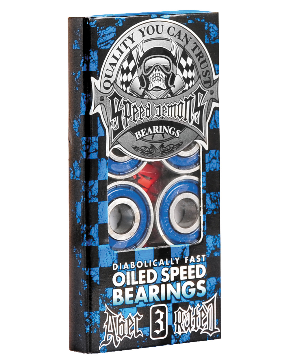 Speed Demons ABEC-3 Skateboard Bearings