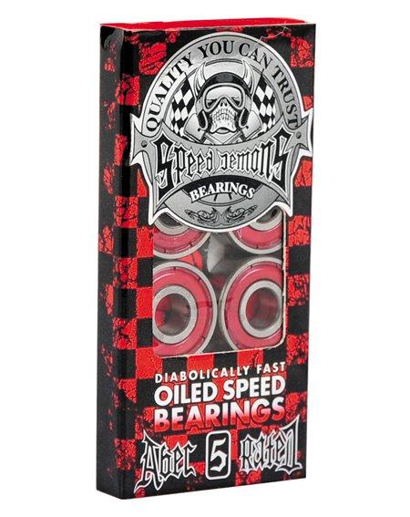 Speed Demons ABEC-5 Skateboard Bearings
