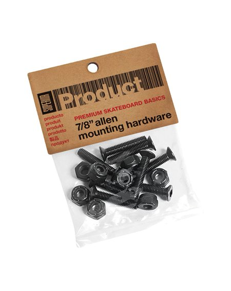 Superior Allen 7/8-inch Hardware Set Skateboard Hardware Set