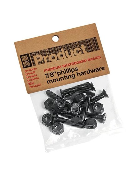Superior Phillips 7/8-inch Hardware Set Skateboard Montageset