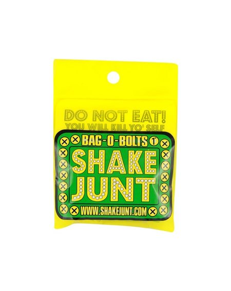 Shake Junt Bag o' Bolts Allen Skateboard Montageset Green/Yellow