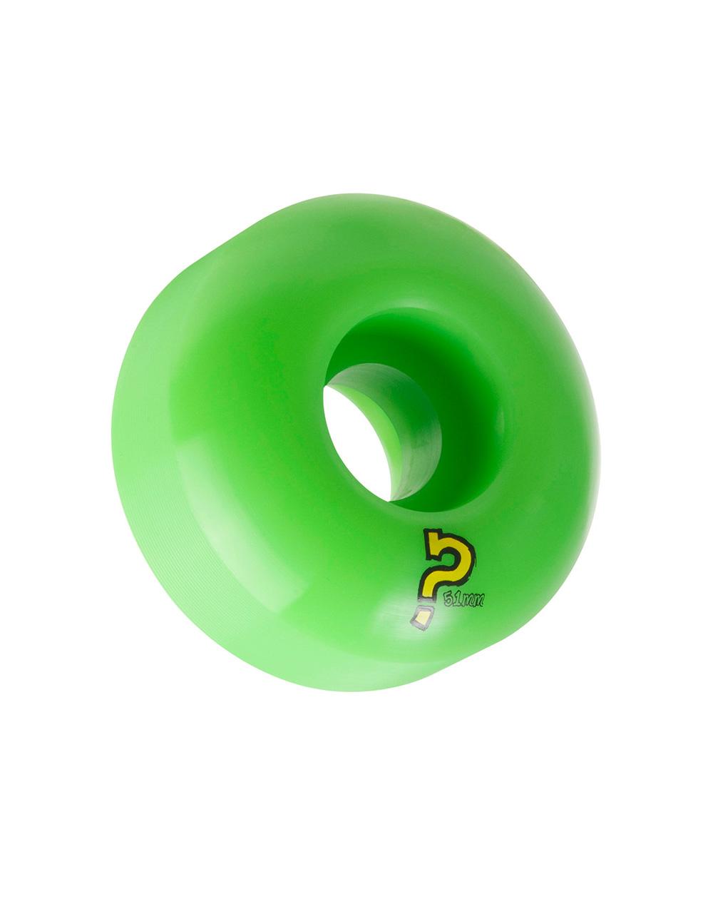 Enuff Refreshers 51mm Skateboard Wheels Green pack of 4