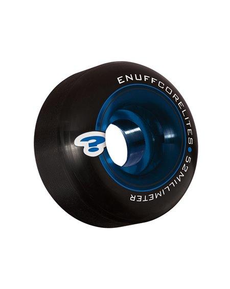 Enuff Rodas Skate Corelites 52mm Black/Blue 4 peças