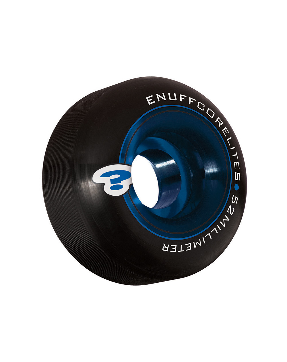 Enuff Ruote Skateboard Corelites 52mm Black/Blue 4 pz