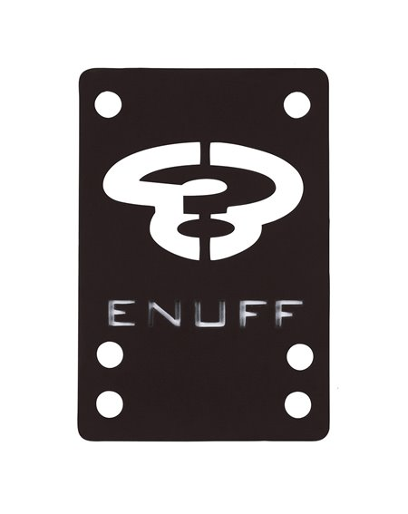 Enuff Riser Shock 1mm Black 2 pz