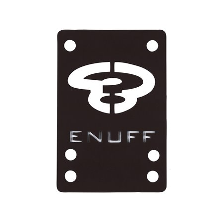 Enuff Shock 1mm Risers Black pack of 2