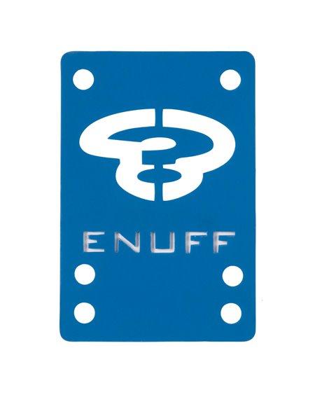 Enuff Elevadores Skateboard Shock 1mm Blue 2 piezas