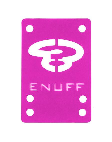 Enuff Pads Skate Shock 1mm Pink 2 peças