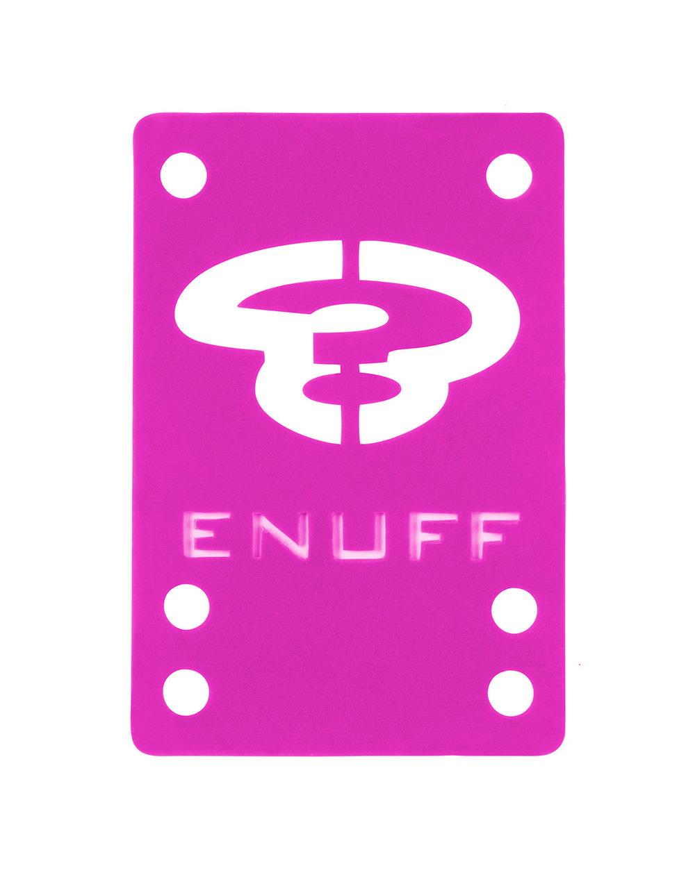Enuff Shock 1mm Skateboard Baseplates Pink 2 er Pack