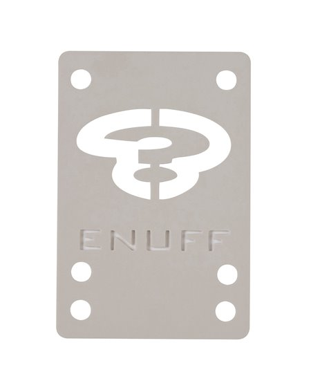 Enuff Pads Skateboard Shock 1mm White 2 pc