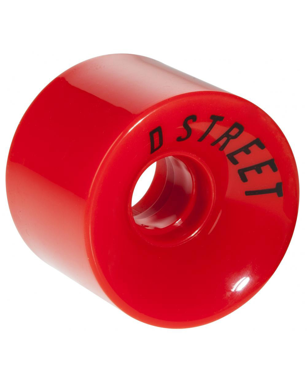 D-Street Rodas Longboard 59 Cents Red 4 peças