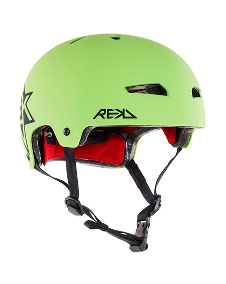 Rekd Protection Elite Icon Skateboard Helmet Green/Black