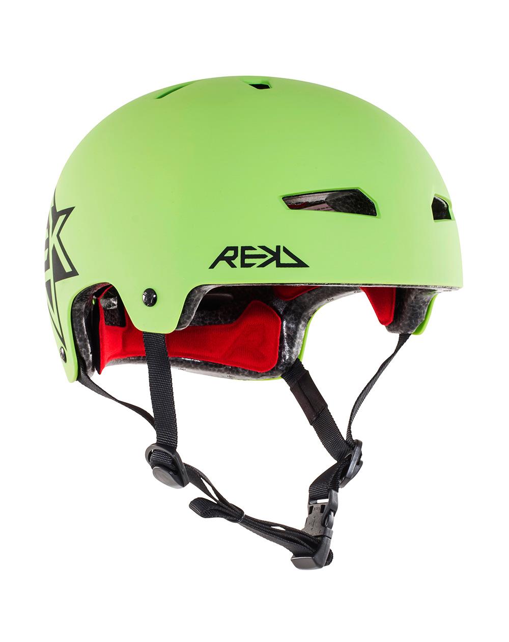 Rekd Protection Elite Icon Skateboard Helmet Green/Black