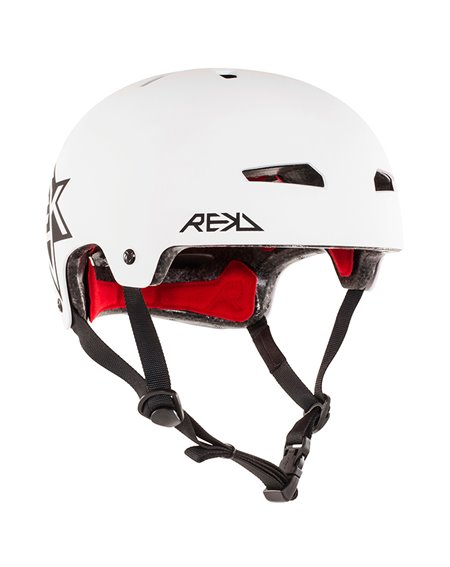 Rekd Protection Elite Icon Skateboard Helmet White/Black