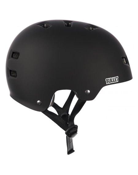 Bullet Safety Gear Deluxe Junior Skateboard Helmet Black