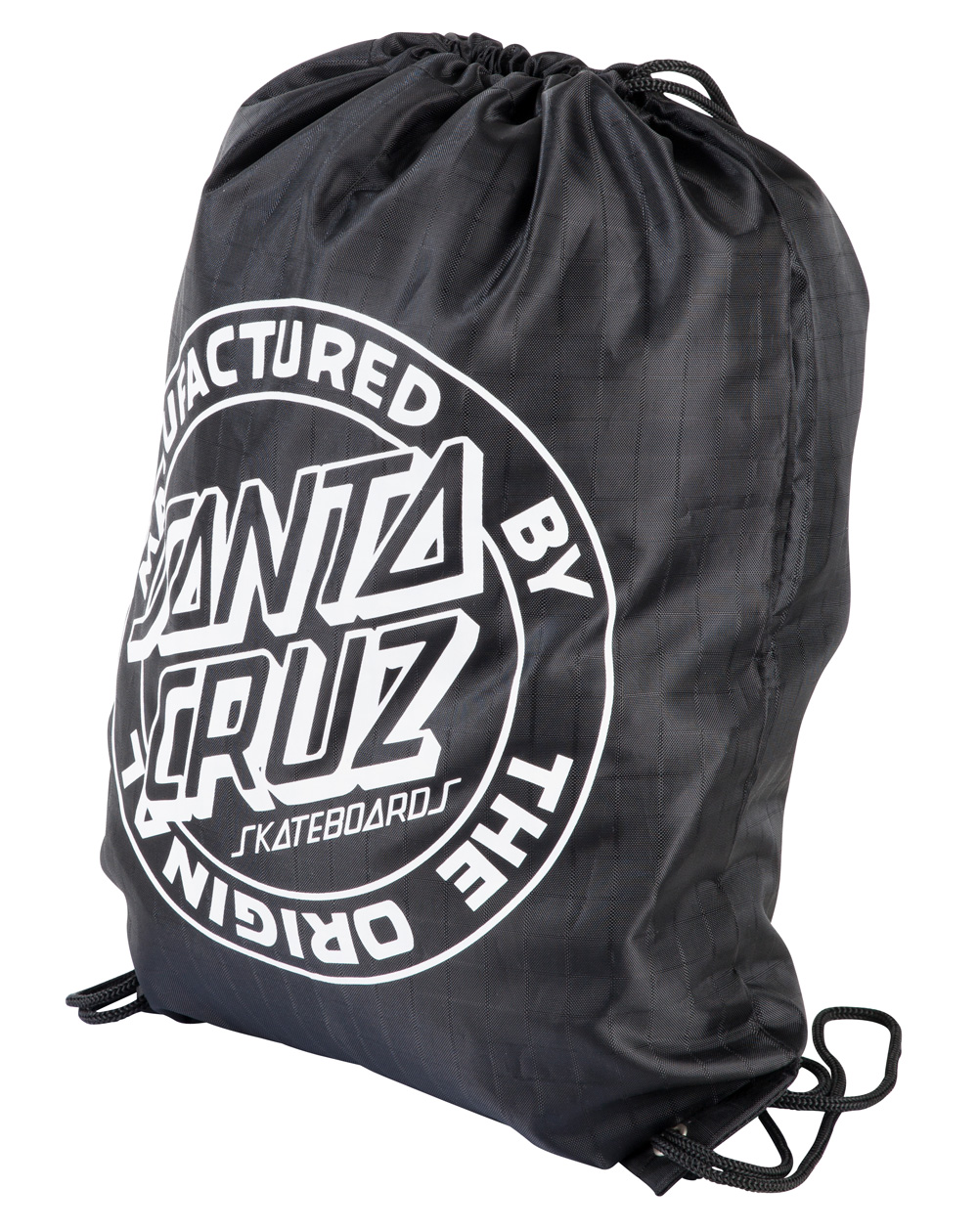 Santa Cruz Kitman Drawstring Bag Black
