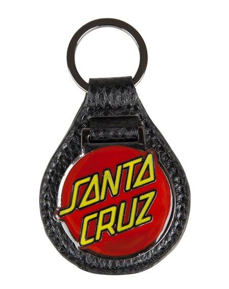Santa Cruz Dot Fob Schlüsselanhänger Black