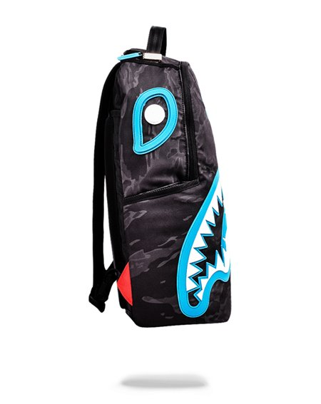 Sprayground Marcelo Blue Rubber Skark Backpack