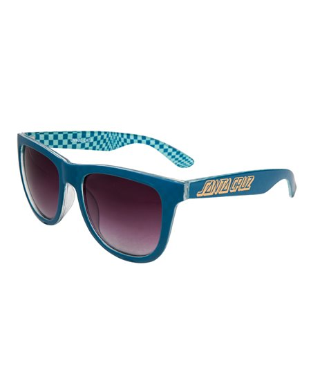 Santa Cruz Men's Sunglasses Fisheye Ink Blue