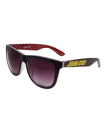 Santa Cruz Fisheye Gafas de Sol para Hombre Black