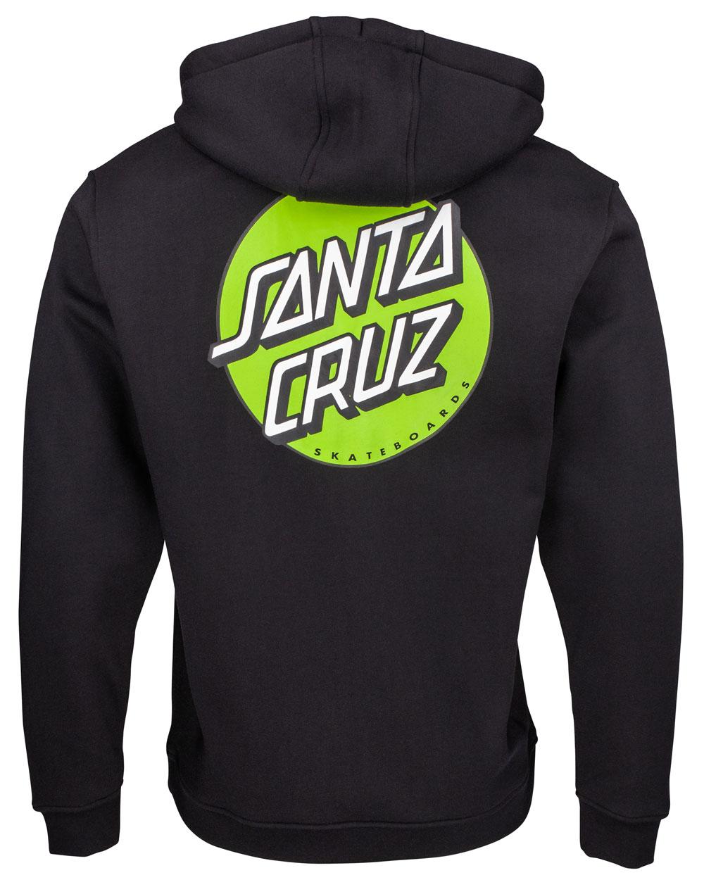 Santa Cruz Men's Hoodie Other Dot Black