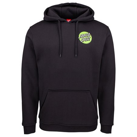Santa Cruz Men's Hoodie Other Dot Black
