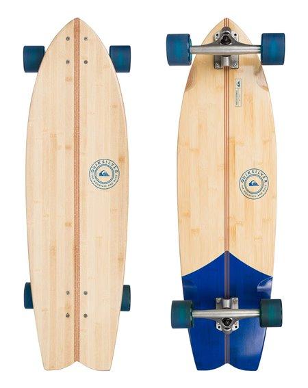 Quiksilver Abacaxi Bamboo Skateboard Cruiser