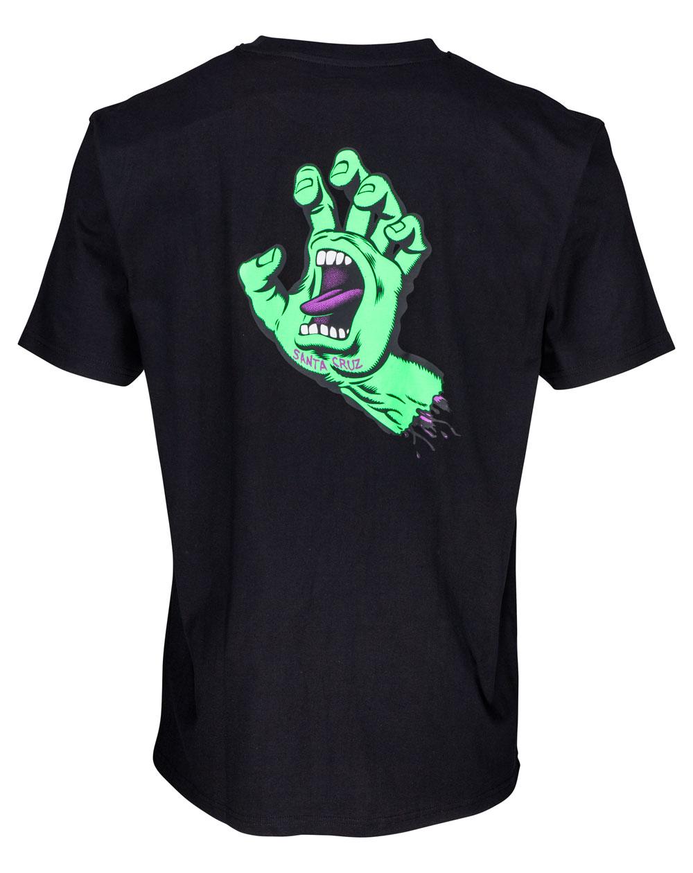 Santa Cruz F.S.U. Hand T-Shirt Uomo Black