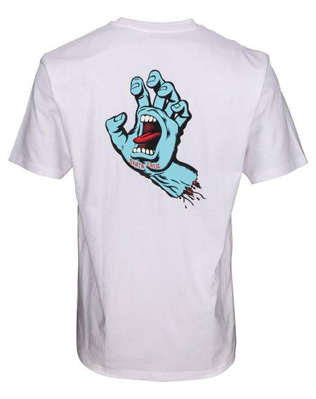 Santa Cruz F.S.U. Hand T-Shirt Homme White