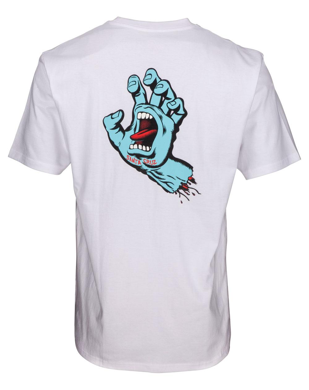 Santa Cruz F.S.U. Hand Camiseta para Homem White