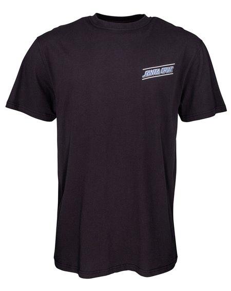 Santa Cruz Multi Strip Camiseta para Homem Black