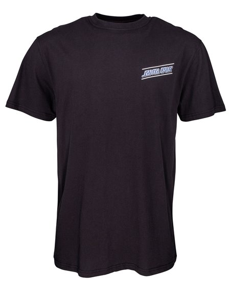 Santa Cruz Multi Strip T-Shirt Uomo Black